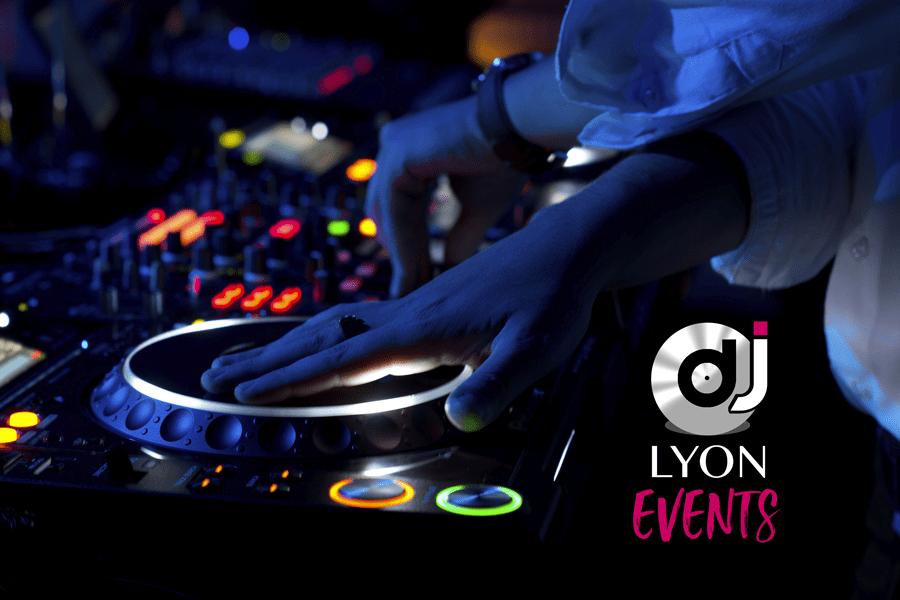 Logo DJ Lyon Events platines