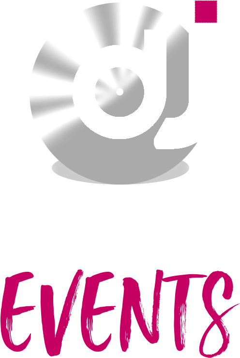 Logo DJ LYON EVENTS blanc