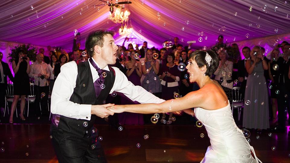 Danse des jeunes mariés