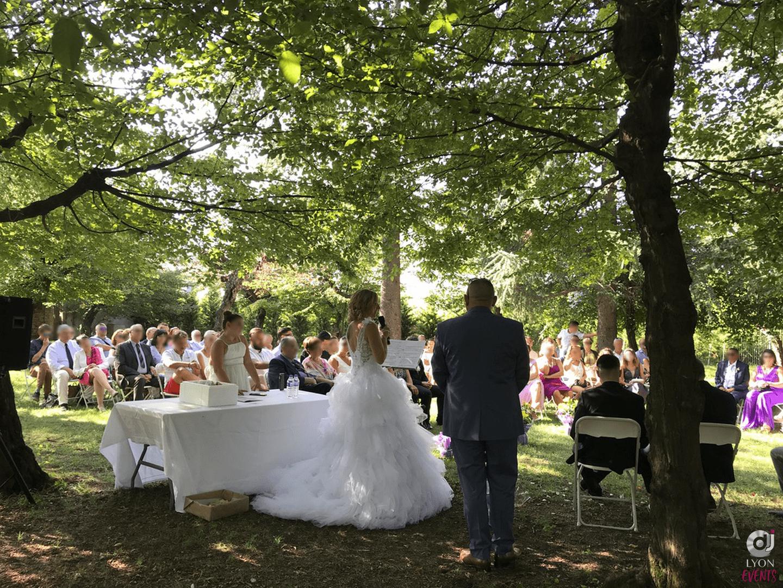 Mariage au château de Talluy